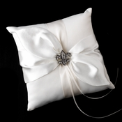 Ring Pillow 17 & Fleur De Lis Brooch 30339