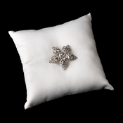 Ring Pillow 9 with Antique Clear Beach Starfish Brooch 40