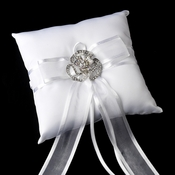 Ring Pillow 90 with Floral Brooch 60