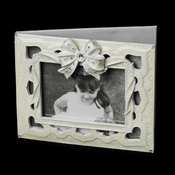 Guest Book Elegant Bow 1743
