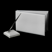 Plain Pen Set & Guest Book 9