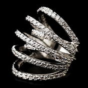 Antique Silver CZ Ring 9405 **Discontinued**
