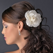 * Elegant Bridal Flower Hair Clip 430