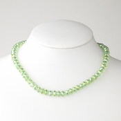 Peridot Necklace 7615
