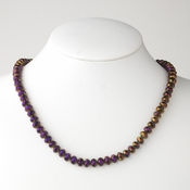 Plum Necklace 7615