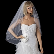 Bridal Wedding Double Layer Elbow Length Veil 1504