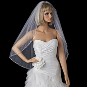Bridal Wedding Single Layer Elbow Length Veil 1523