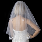 Bridal Wedding Double Layer Elbow Length Veil 503
