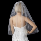 Bridal Wedding Single Layer Elbow Length Cut Edge Veil VC 1E