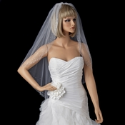 Bridal Wedding Single Layer Fingertip Length Veil 137 1F
