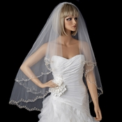 Bridal Wedding Double Layer Fingertip Length Veil 1780