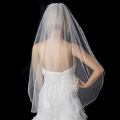 Bridal Wedding Single Layer Fingertip Length Veil VP 1F
