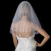 Bridal Wedding Single Layer Child's Communion Shoulder Length Veil 227