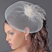 Feather Fascinator Hat Headpiece Comb 2174