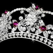 Color Accented Tiaras