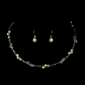 Ivory Child's Necklace Earring Set 7246