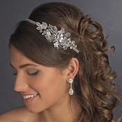 Vintage Side Bridal Headpiece Headband HP 613