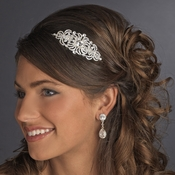 Silver Clear Headband Headpiece 621
