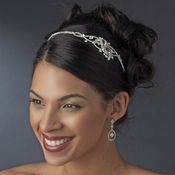 Rhinestone Couture Accented Side Headband Ornament - HP 8407