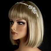 Silver Ivory Headpiece 8639