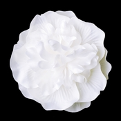 Bridal Flower Hair Clip or Clip Brooch 429 White or Ivory