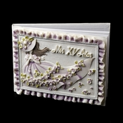 Purple 'Sweet 15' Girl Guest Book