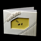 Small White Daisy Guest Book