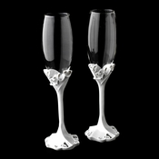 Charming Love Wedding Toasting Champagne Flutes 428