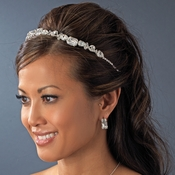 Silver Plated Bridal Headband HP 8276