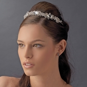 * Modern Bridal Headpiece HP 8102