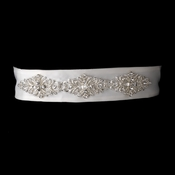 * Rhinestone Vintage Wedding Sash Bridal Belt 24