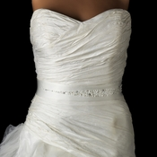 * Beautiful Wedding Sash Bridal Belt 29