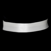 "* Simple Matt Satin Plain Wedding Sash Bridal Belt 41 2"" Wide"