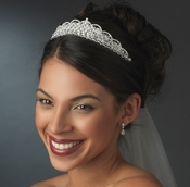 Swarovski and Rhinestone Bridal Tiara HP 6350