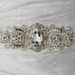 * Vintage Rhinestone Crystal Wedding Sash Bridal Belt 25