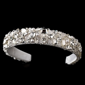 Stunning Crystal & Pearl Bridal Headband Headpiece 2223 White
