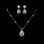 Cubic Zirconia Jewelry Sets