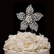 Floral Starfish Cake Topper 1028