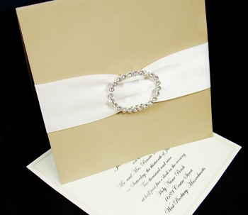Invitation Buckle Embellishments