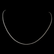 Silver Snake Chain Necklace 5054
