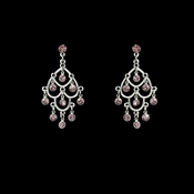 Earring 20476 Silver Light Amethyst
