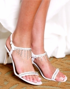 Porsha Dyeable Bridal & Prom Shoe - Hot....Hot...Hot.. 6001