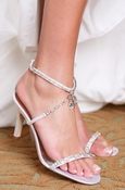 Hilton Dyeable Bridal Wedding Shoes 5019