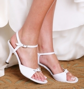Jasmin Dyeable Bridal Wedding Shoes 5010