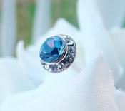 Blue Bouquet Accenting Jewelry