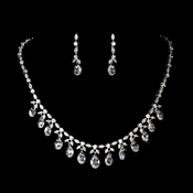 Couture Celebrity Style Jewelry Set N 9005 & E 9018