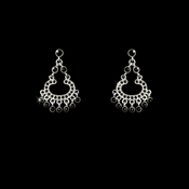 Earring 20377 Silver Black