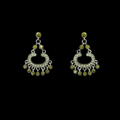 Earring 20377 Silver Olive