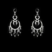 Earring 20379 Silver Black