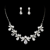 * Stunning Crystal Bridal Jewelry Set NE 71746